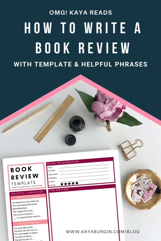How to Write a Book Review With Template