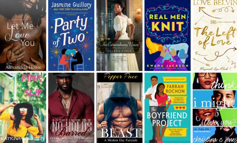 Black Love Book Covers